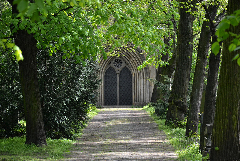 St. Marien- und St. Nikolai-Friedhof I, Berlin Prenzlauer Allee, Kapelle