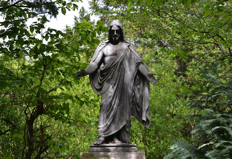 St. Marien- und St. Nikolai-Friedhof I, Berlin Prenzlauer Allee, Jesus Christus
