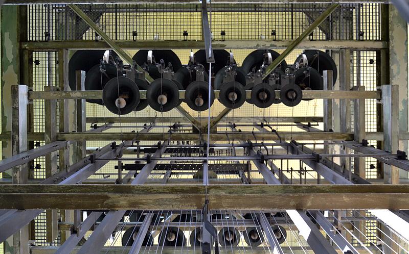 Kleine Glocken im Carillon Berlin-Tiergarten