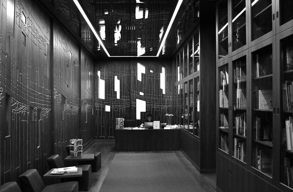 Museum für Architekturzeichnung, Kassenraum
