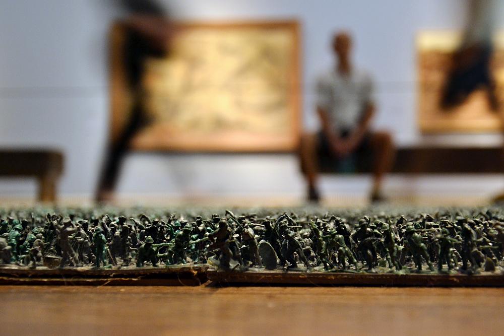 Veronika Dreier, Teppich (Leopold Museum Wien)