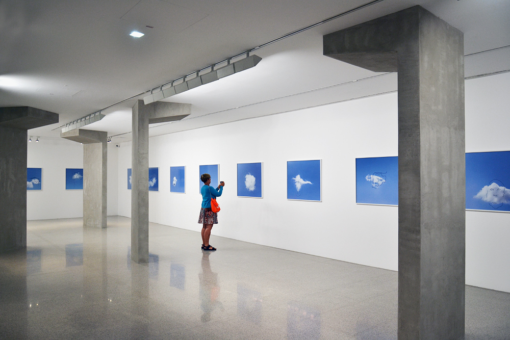 Ausstellung Flaka Haliti - I See a Face. Do You See a Face (mumok Wien)