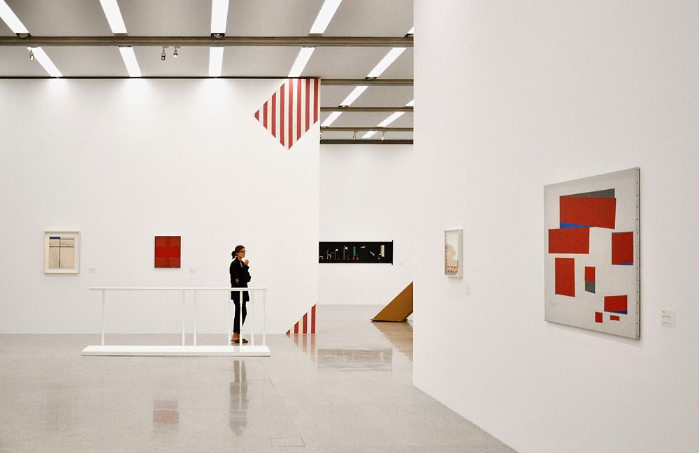 Ausstellung Die Gegenwart der Moderne (mumok Wien)