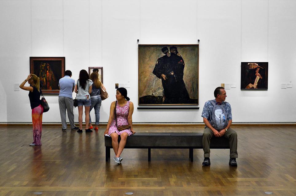 Egon Schiele, Eremiten (Leopold Museum Wien)