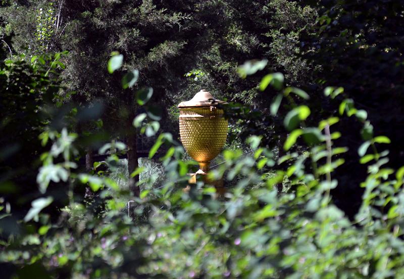 Goldene Urne im Wörlitzer Park