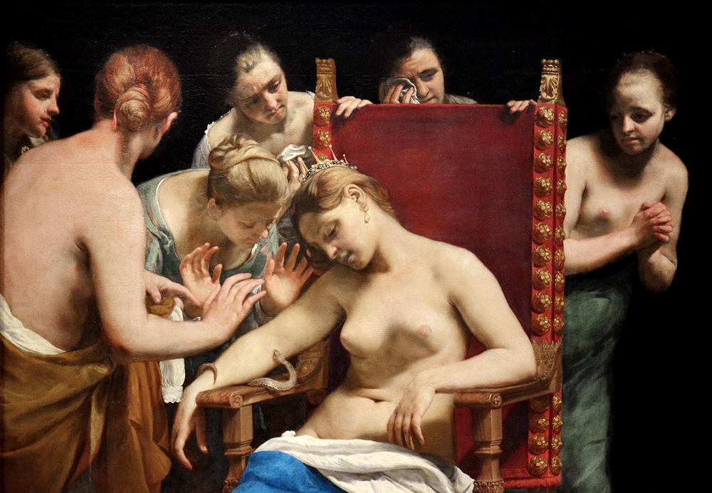 Kunsthistorisches Museum Wien, Guido Cagnacci, Tod der Kleopatra