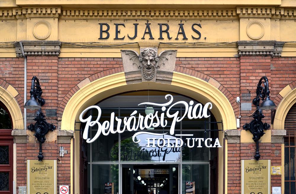 Belvárosi Piac Markthalle Budapest