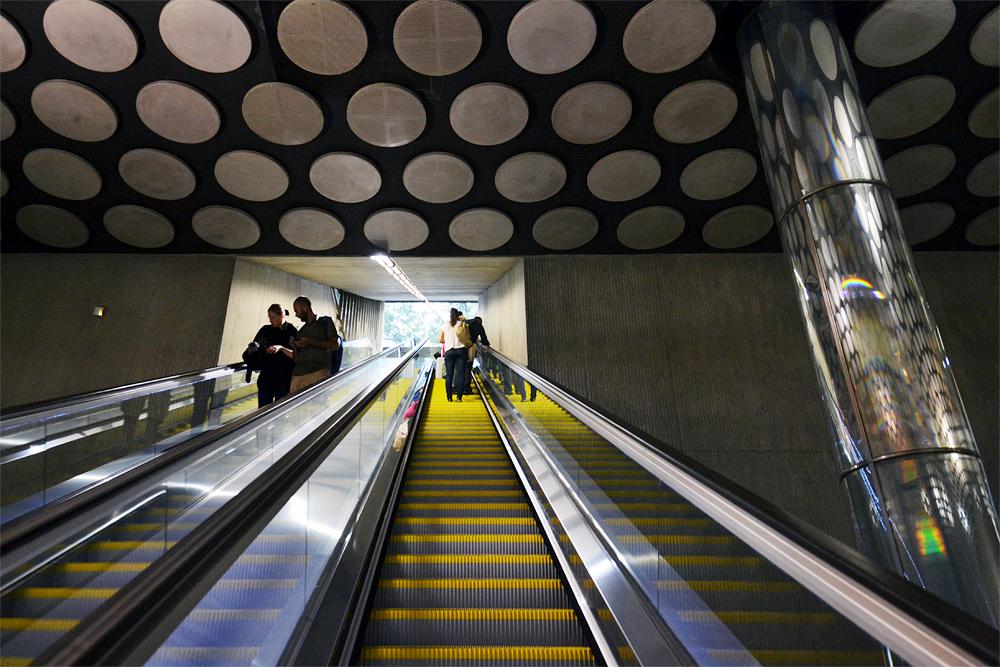 Metro Rákóczi tér Budapest