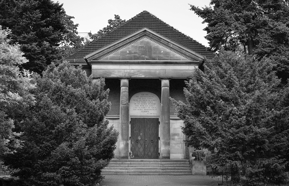 Alter Luisenstädtischer Friedhof Berlin, Kapelle