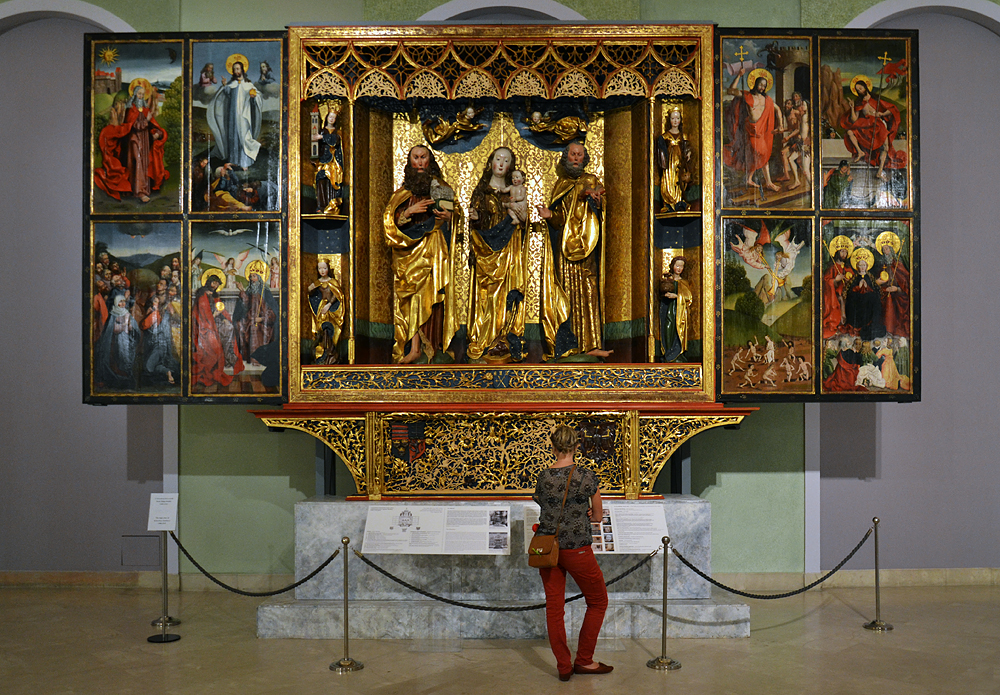 Hochaltar aus Kisszeben, Magyar Nemzeti Galéria Budapest