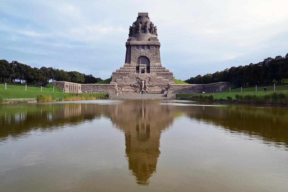 Völkerschlachtdenkmal Leipzig, See der Tränen
