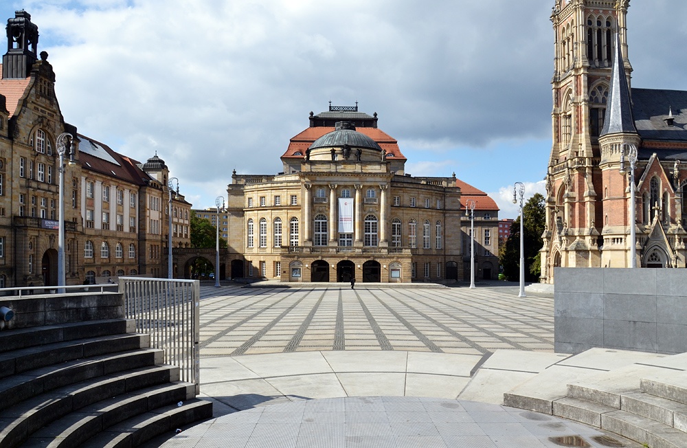 Chemnitz, Theaterplatz