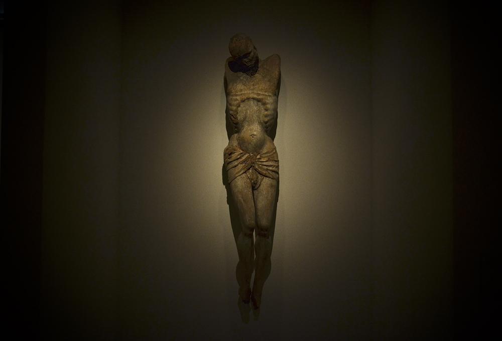 Grassi Museum für Angewandte Kunst Leipzig, Abteilung Mittelalter, Kruzifix