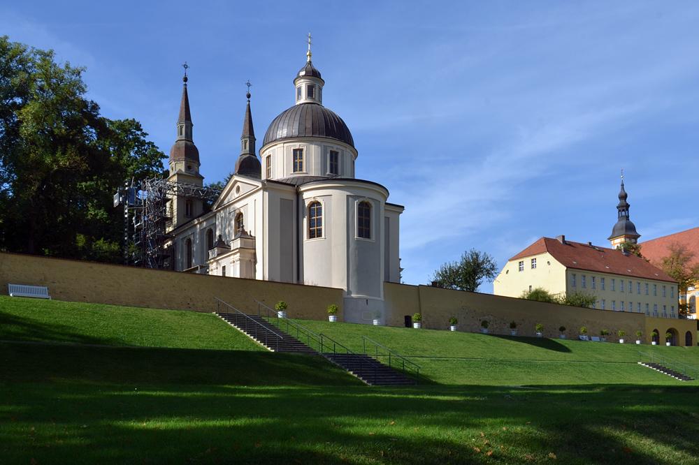 Kloster Neuzelle, Pfarrkirche zum Heiligen Kreuz, Klostergarten