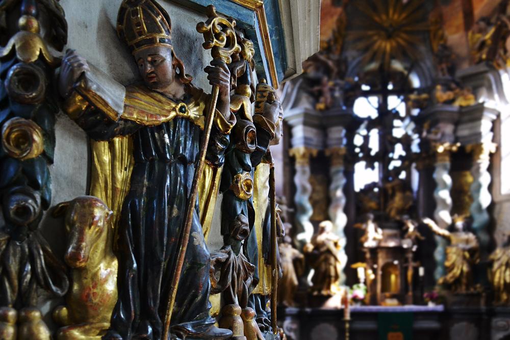 Kloster Neuzelle, Pfarrkirche zum Heiligen Kreuz, Kanzel