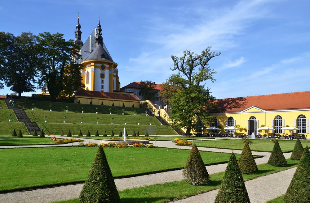Kloster Neuzelle, Stiftskirche St. Marien, Orangerie