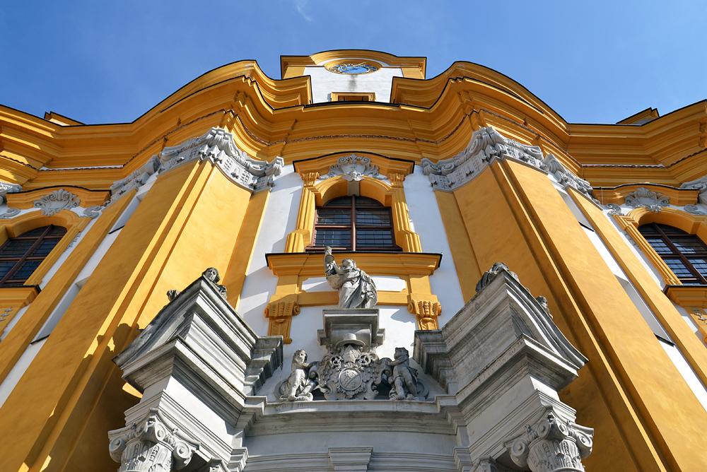 Kloster Neuzelle, Stiftskirche St. Marien, Fassade