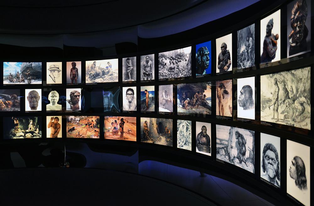 Archäogisches Museum Chemnitz, Neanderthaler