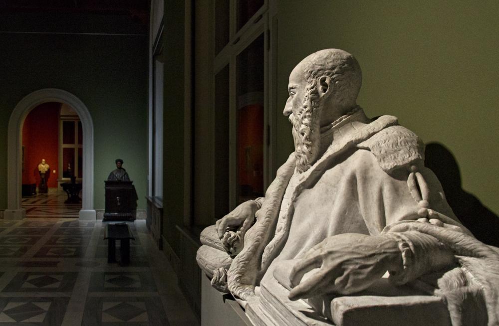 Bodemuseum, Berlin, Guglielmo della Porta, Bildnis eines Gelehrten