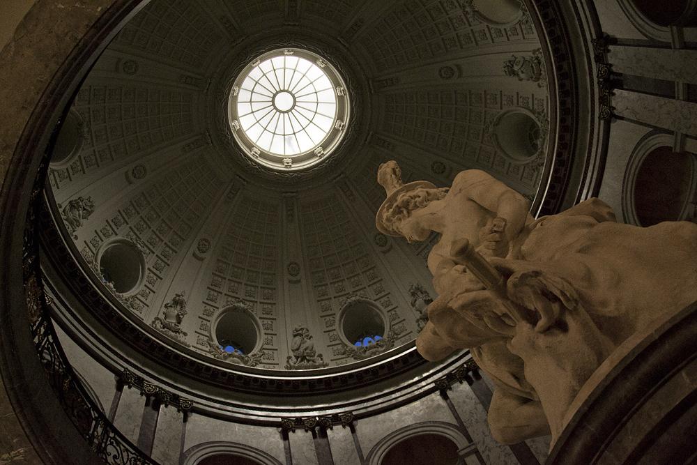Bodemuseum, Berlin, Kleine Kuppelhalle, Jean-Baptiste Pigall, Merkur