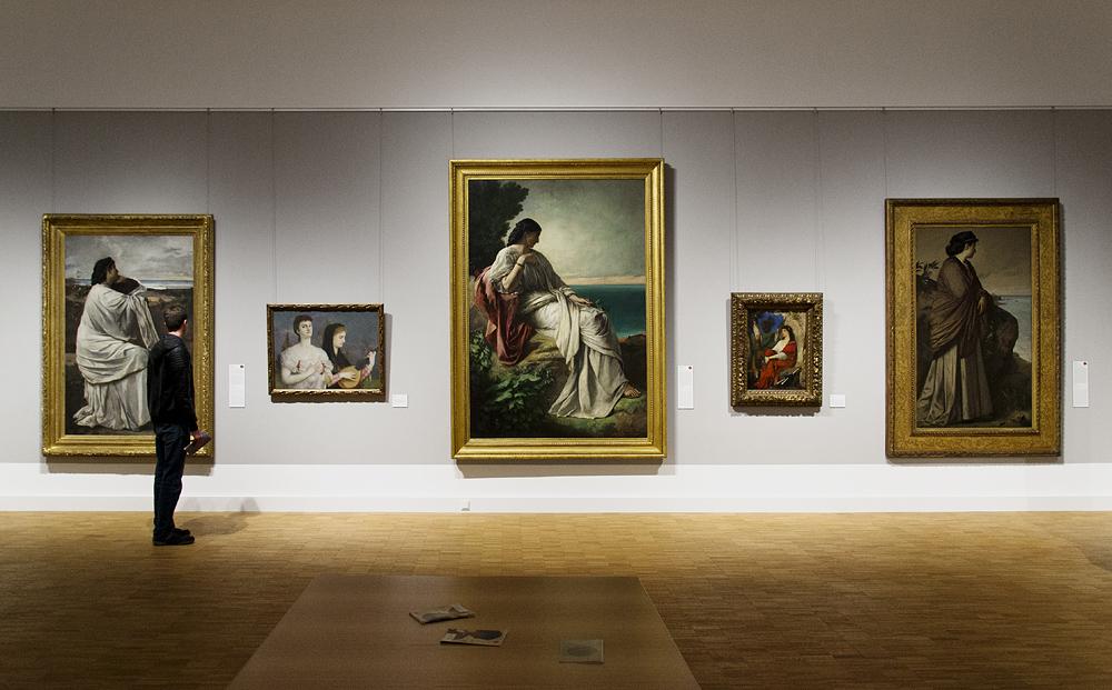 Hessisches Landesmuseum Darmstadt, Anselm Feuerbach, Iphigenie (Fassungen aus Stuttgart, Darmstadt und Düsseldorf)