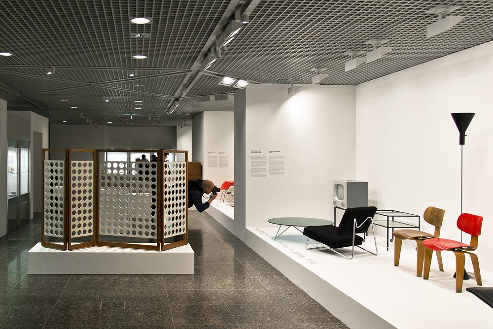 Kunstgewerbemuseum Berlin, Design Egon Eiermann, Hochschule für Gestaltung Ulm