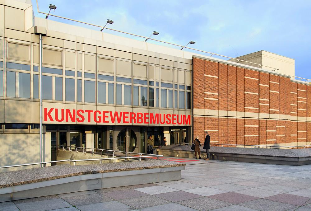Kunstgewerbemuseum Berlin, Eingang