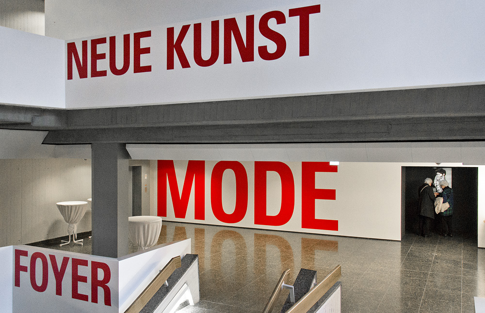 Kunstgewerbemuseum Berlin, Wegeleitsystem