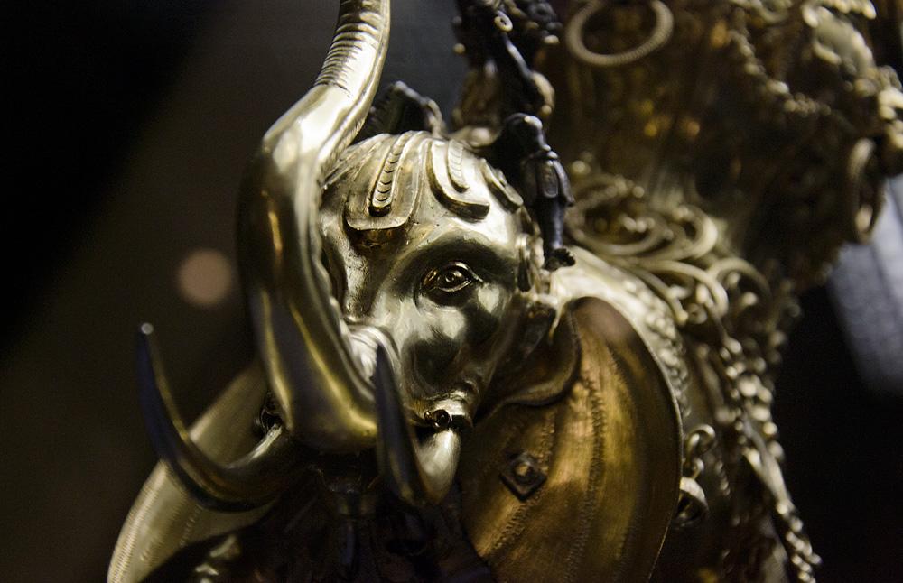 Kunstgewerbemuseum Berlin, Renaissance, Gießgefäß in Form eines Elefanten von Christoph Jamnitzer