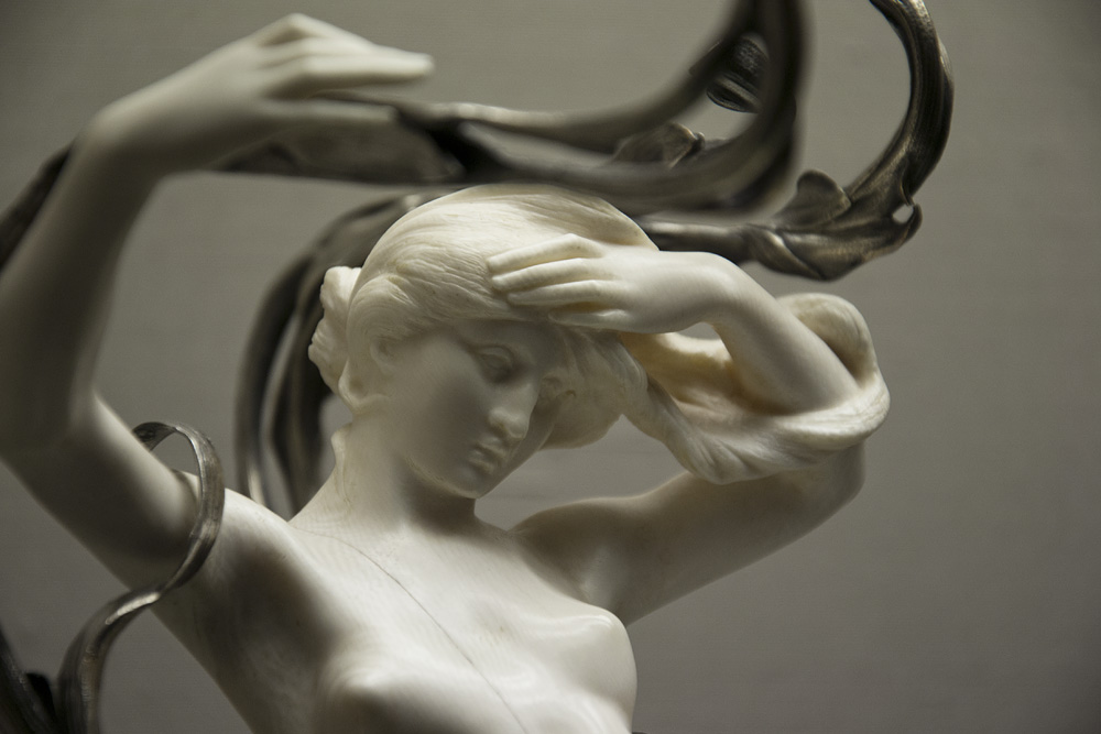 Kunstgewerbemuseum Berlin, Jugendstil von Leuchter von Egide Rombaux / Frans Hoosemans
