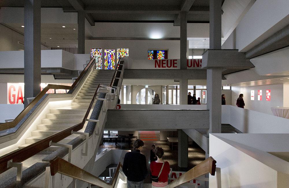 Kunstgewerbemuseum Berlin, Treppenhaus, Architektur, Kuehn Malvezzi