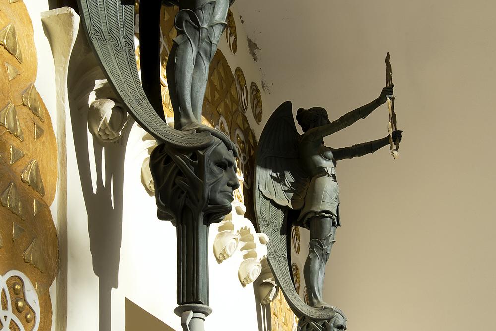 Mathildenhöhe, Künstlerkolonie Darmstadt, Eingangsportal zum Ernst-Ludwig-Haus