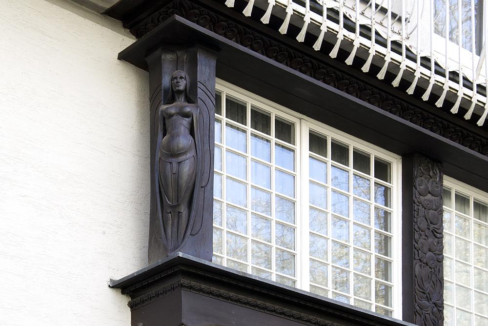 Mathildenhöhe, Künstlerkolonie Darmstadt, Kleines Glückert-Haus