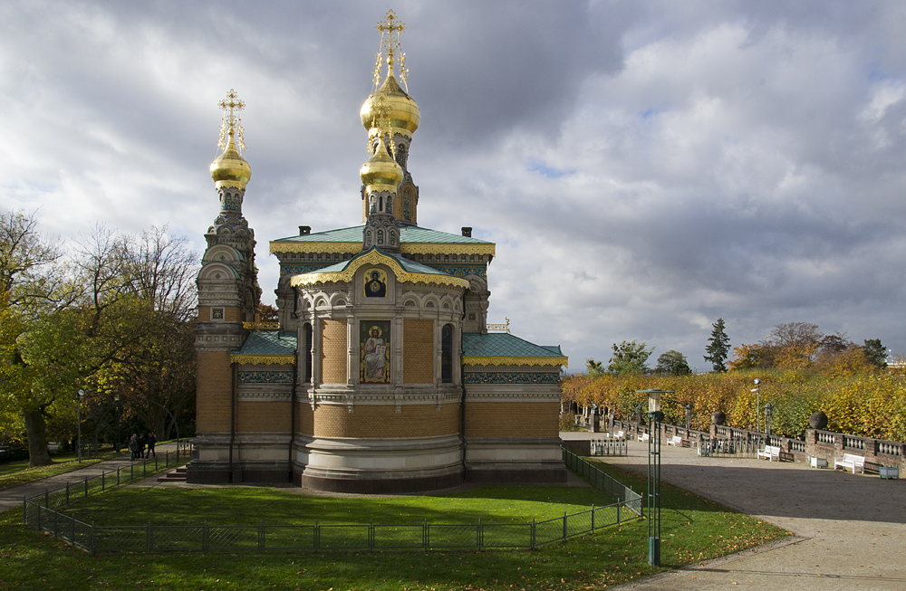 Mathildenhöhe, Künstlerkolonie Darmstadt, Russische Kapelle