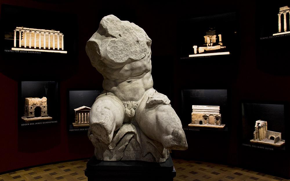 Hessisches Landesmuseum Darmstadt, Antikenrezeption, Gipskopie des Torso von Belvedere