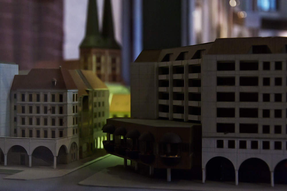Nikolaikirche Berlin,Modell Nikolaiviertel