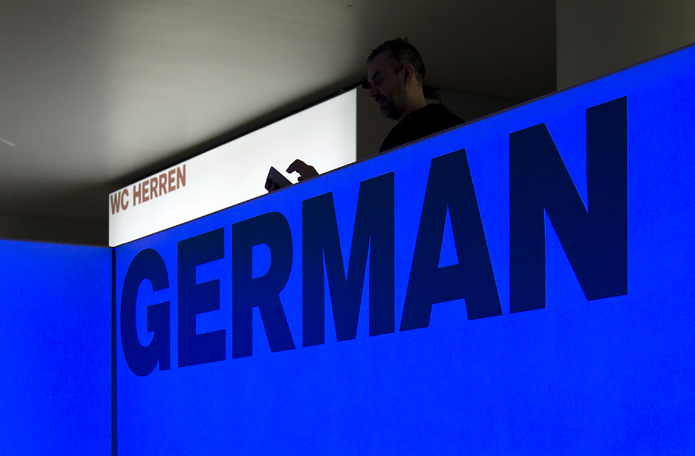 Schirn, Frankfurt, Foyer, Ausstellung German Pop