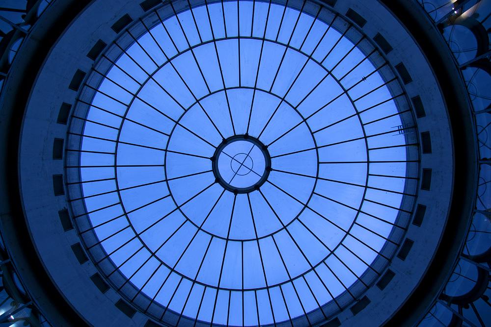 Schirn, Frankfurt, Kuppel der Rotunde