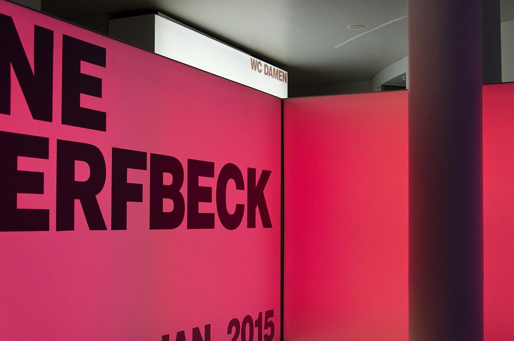 Schirn, Frankfurt, Foyer, Ausstellung Helene Schjerfbeck