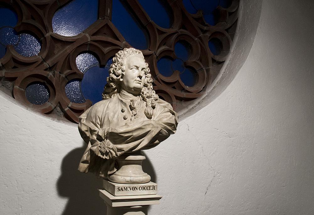 Märkisches Museum Berlin, François Gaspard Balthasar Adam, Büste des Samule Freiherr von Cocceji