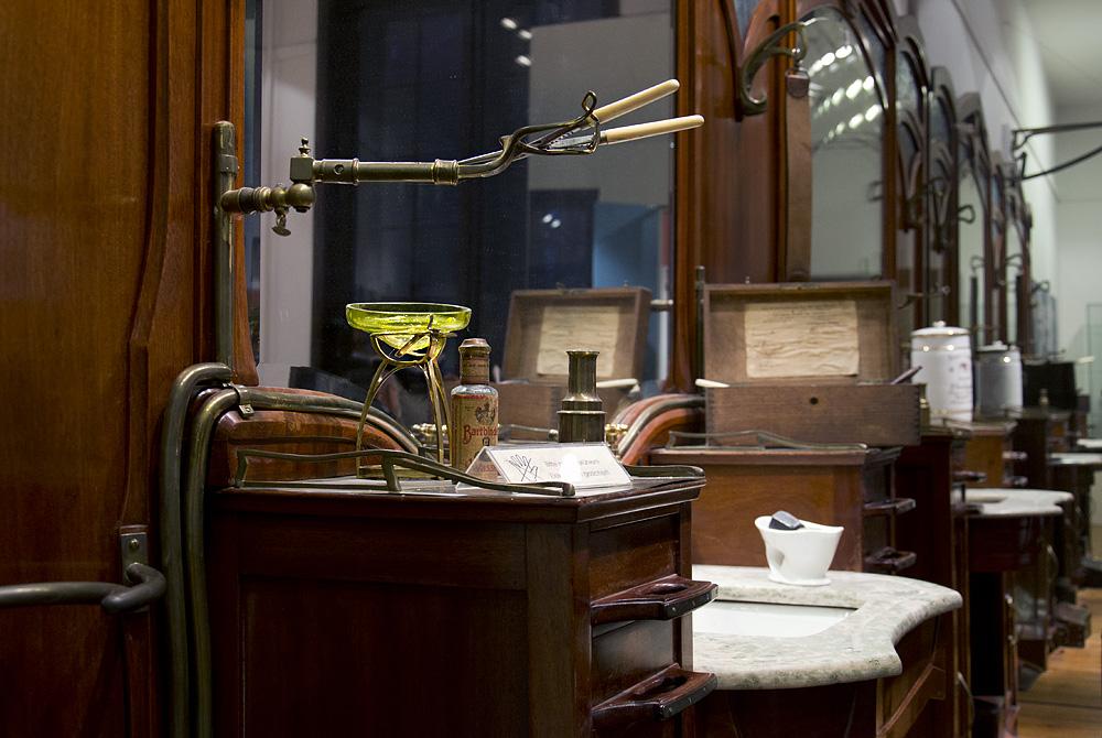 Märkisches Museum Berlin, Friserur François Haby, Henry van de velde