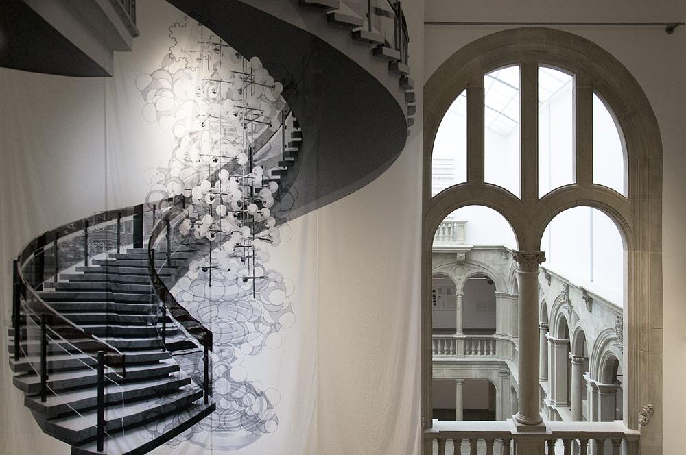 Münster, LWL-Landesmuseum für Kunst und Kultur, Batia Suter, Alte Treppe
