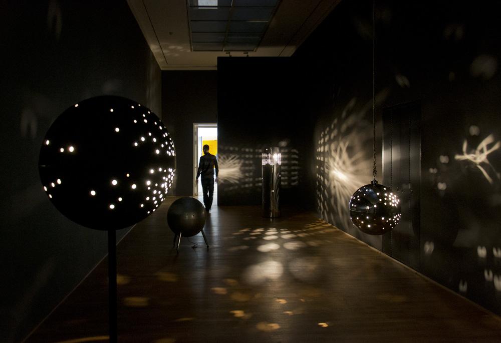 Münster, LWL-Landesmuseum für Kunst und Kultur, Otto Piene, Die Geschichte des Feuers