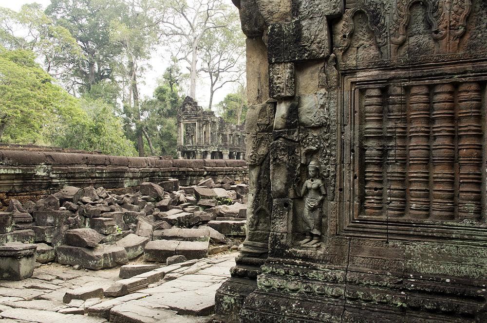 Angkor, Preah Khan, Apsara