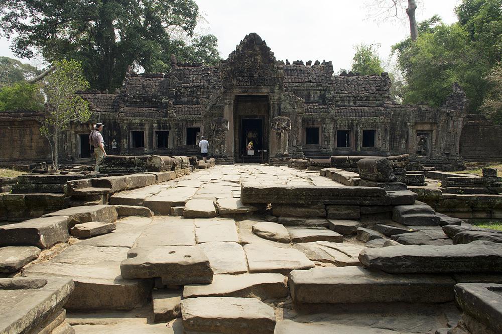 Angkor, Preah Khan, West-Eingang