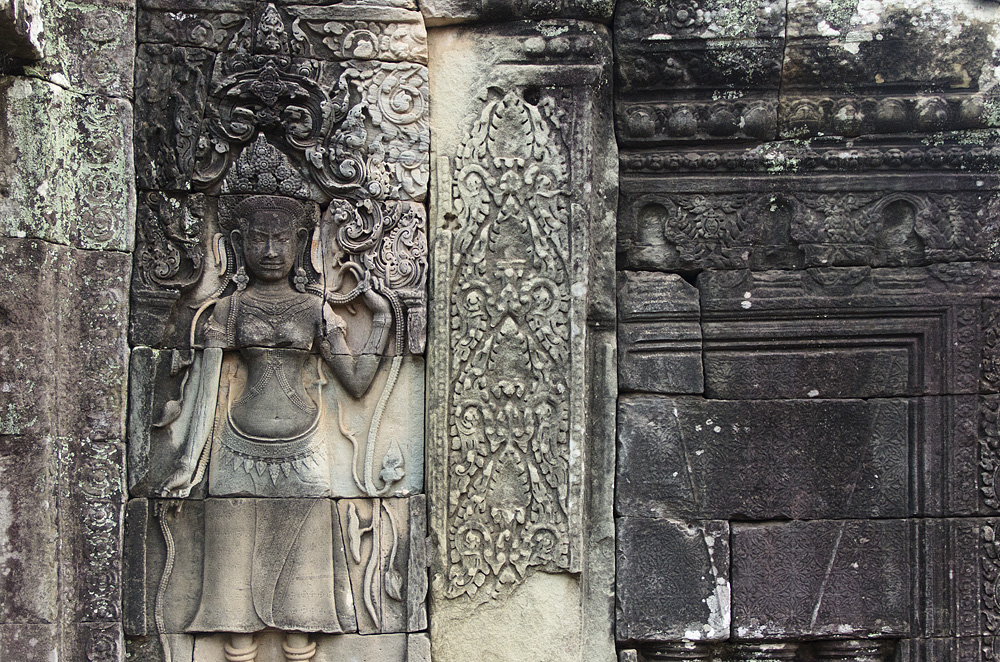 Angkor, Bayon, Apsara