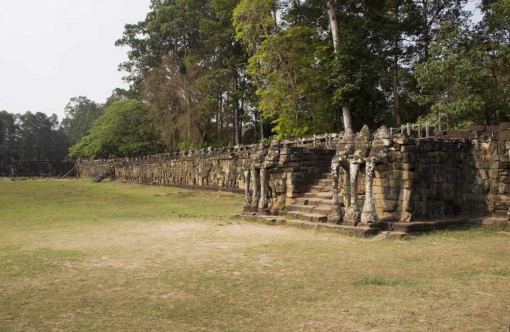 Angkor Thom, Elefantenterrasse