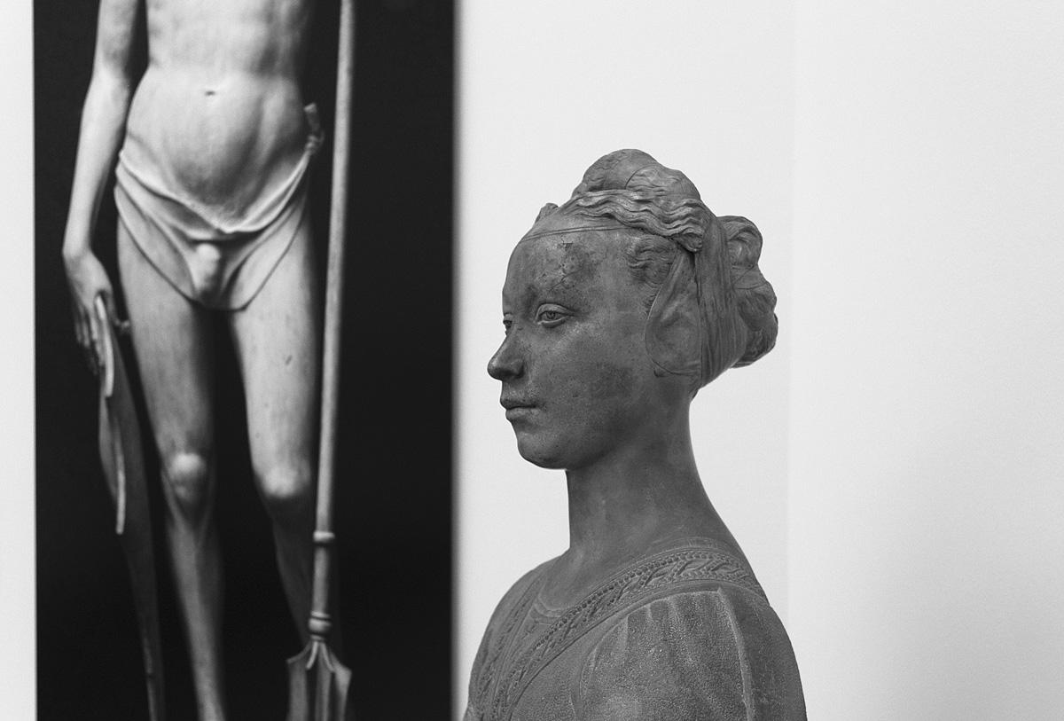 """Bode-Museum, Ausstellung Das verschwundene Museum, Nachfolger des Desiderio da Settignano, Bildnis einer jungen Dame (""""Prinzessin von Urbino"""")"""