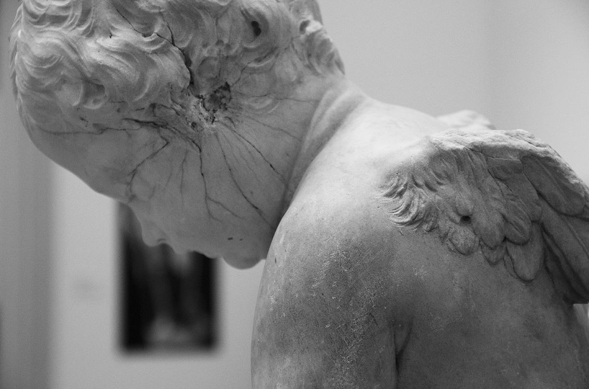 Bode-Museum, Ausstellung Das verschwundene Museum, François Duquesnoy, Bogenschnitzender Amor