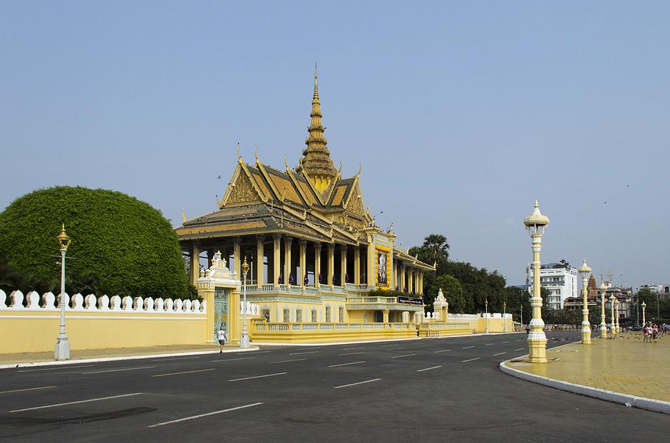 Phnom Phen, Königspalast, Chan Chhaya Pavillon